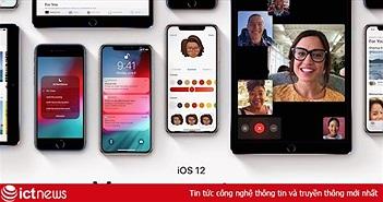 4 bước chuẩn bị iPhone để nâng cấp iOS 12 hôm nay