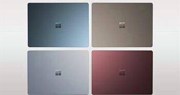 Rò rỉ bộ ảnh Microsoft Surface Laptop 2