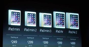 Apple giảm giá 100 USD cho hàng loạt iPad thế hệ cũ