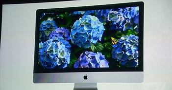 """iMac Retina """"màn hình nét nhất thế giới"""", giá từ 53 triệu đồng"""