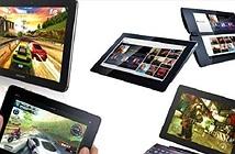 Thị trường tablet tăng trưởng chậm hẳn