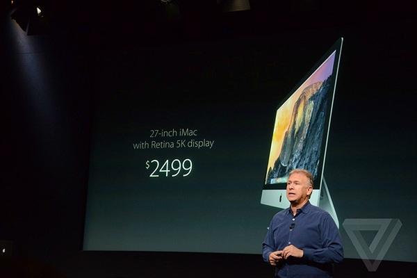 iMac 2014 : Màn hình Retina độ phân giải 5K