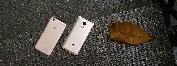 So sánh điện thoại 4 triệu: Oppo A37 và Huawei GR5 mini
