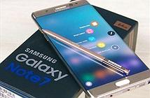 [Galaxy Note 7] Việt Nam thu hồi 8.000 chiếc Galaxy Note 7 sau sự cố cháy nổ