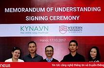 Đại học Thành Tây bắt tay Kyna cung cấp dịch vụ học trực tuyến theo tiêu chuẩn quốc tế