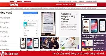 Tuổi trẻ Online ra mắt giao diện mới
