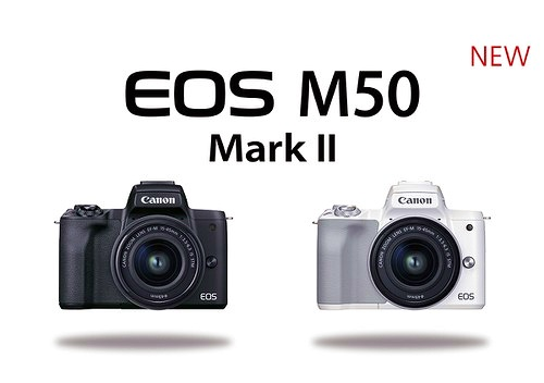 Canon công bố EOS M50 Mark II với một số nâng cấp, giá 600 USD