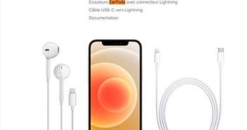Nơi duy nhất iPhone 12 được bán kèm tai nghe