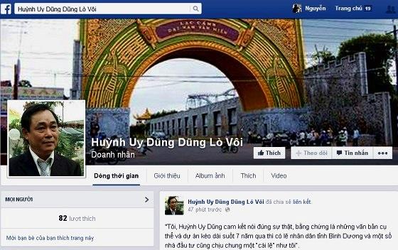"""Ông Dũng """"lò vôi"""" đề nghị CA điều tra vụ """"mạo danh trên Facebook"""""""