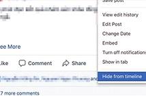 Người dùng Facebook có thể không xóa được bài đăng nữa