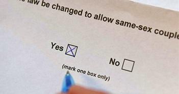 Trưng cầu dân ý: số đông dân Úc ủng hộ hôn nhân đồng giới