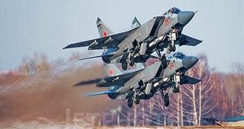 """Kinh ngạc nguyên nhân """"hạ gục"""" cả phi đội bốn chiếc MiG-31"""