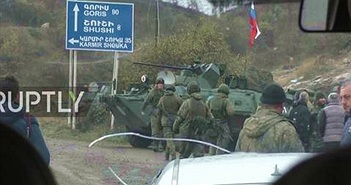 Trang bị hùng hậu của lực lượng Gìn giữ hòa bình Nga tại Nagorno-Karabakh
