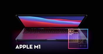 GPU Apple M1 trên máy Mac mạnh ngang GeForce GTX 1050 Ti