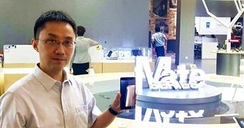 """Sếp Huawei """"Mate 40 series là số một trong các smartphone Android"""""""
