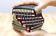 Cận cảnh khối rubic đặc biệt với... 1014 ô màu