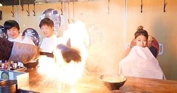 Thót tim mì bốc lửa bừng bừng ở Nhật, chọn không được chạy