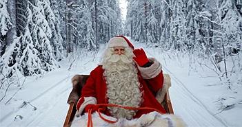 Văn phòng của ông già Noel ở đâu?