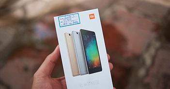Mở hộp Xiaomi Redmi 3: vỏ nhôm, RAM 2GB, pin 4100mAh, giá dưới 3tr5