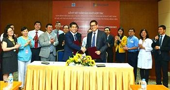 Microsoft Việt Nam hỗ trợ và phát triển ứng dụng CNTT trong bệnh viện