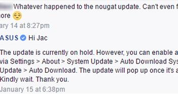 Asus ZenFone 3 sắp được lên Android Nougat