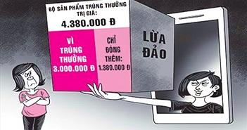 Sát Tết Đinh Dậu, rộ trò lừa bán hàng qua điện thoại