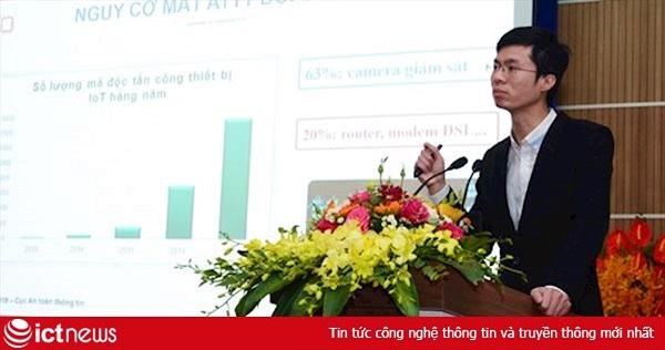 65% camera giám sát tại Việt Nam tồn tại lỗ hổng có nguy cơ bị hacker tấn công