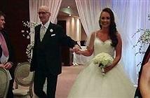 Người bố vừa được vui ngày cưới con gái vừa được ghép tạng