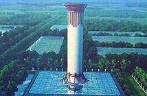 Trung Quốc xây tháp lọc không khí lớn nhất thế giới
