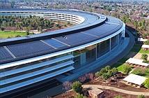 Trụ sở 5 tỷ USD của Apple hoàn thiện viên gạch cuối cùng