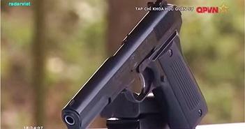 Sức mạnh súng ngắn K-14 Việt Nam sản xuất