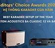 Editors' Choice Awards 2020: Boston Acoustics BA Classic 12 và BA300 – Hệ thống karaoke của năm