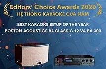 Editors Choice Awards 2020: Boston Acoustics BA Classic 12 và BA300 – Hệ thống karaoke của năm