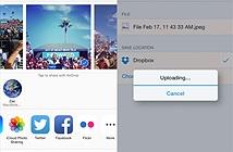 Lưu ảnh và file trong iOS trực tiếp lên Dropbox