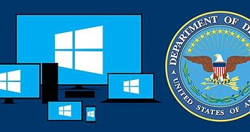 Bộ quốc phòng Hoa Kỳ nâng cấp 4 triệu máy tính lên Win 10, phê chuẩn sử dụng Surface trong nội bộ