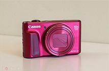 Cận cảnh máy ảnh compact Canon PowerShot SX720 HS