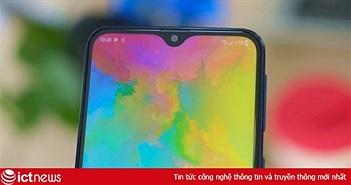Hình ảnh và video chi tiết điện thoại màn hình giọt nước đầu tiên của Samsung tại Việt Nam