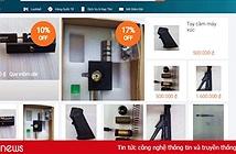 Rao bán thiết bị súng tràn lan: Lazada nhận bị shop qua mặt, hứa gỡ bỏ hết sản phẩm trái phép