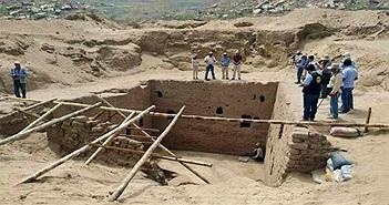 Nhiều di vật trong mộ cổ của giới quý tộc ở Peru