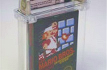 Băng chơi game Mario đời đầu được bán với giá 2,3 tỷ