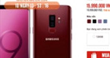 Dọn đường đón Galaxy S10, S9 Plus giảm 4 triệu đồng
