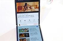 Ảnh thực tế smartphone màn hình gập Samsung Galaxy Z Flip