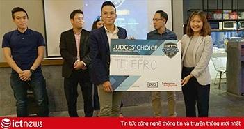 TelePro vô địch vòng loại Hội nghị thượng đỉnh khởi nghiệp châu Á tại Việt Nam