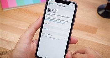 Lỗi iOS 13 chưa được khắc phục đang âm thầm ngốn dữ liệu di động