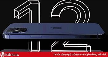 Rò rỉ thiết kế iPhone 12 Pro Max