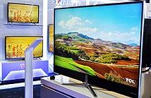 TCL trình làng TV 4K và màn hình cong công nghệ lượng tử