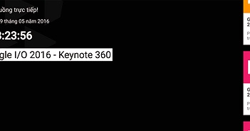 Google IO sẽ được phát trực tiếp trên YouTube bằng video 360 độ, kính nào cũng coi được