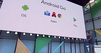 Google công bố Android Go cho các thiết bị có RAM 1GB trở về