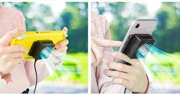 Quạt làm mát cho Nintendo Switch, smartphone và tablet giảm 13 độ, giá 30 USD
