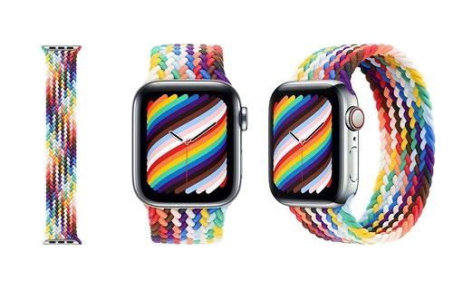 Apple ra mắt 2 dây đeo Pride Edition đẹp mắt cho cộng đồng LGBTQ+